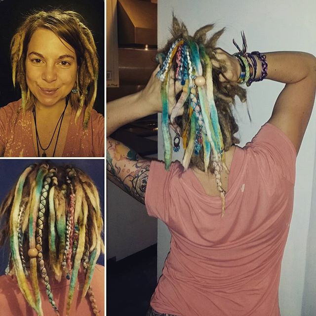 Dreads Hairetics Salon